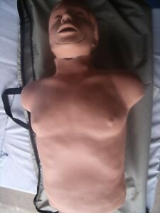 Simulaids Cpr Brad Manikin Torso Traveling Carry Bag Training Manikin