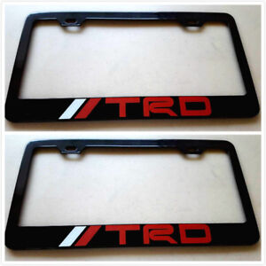 Trd License Plate Frame Oem New And Used Auto Parts For
