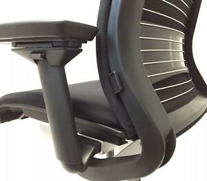 Steelcase Think Office Chair Adjustable Lumbar Black Base frame 2015