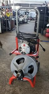 Ridgid Drain Cleaning Machine A x