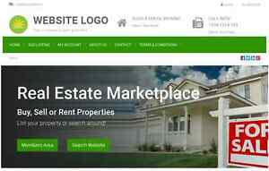 Real Estate Marketplace Website For Sale Hosting Included