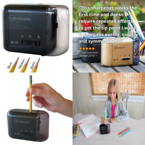 Electric Battery Operated Pencil Sharpener For Home Office School