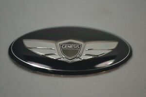 For Hyundai Genesis Steering Wheel Emblem 2011 2012 2013 2014 2015 2016 2017