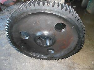 Farmall 806 Gas Tractor Bull Gear