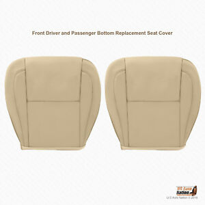 For 1998 2005 Lexus Gs300 Gs400 Gs430 Left right Bottoms Tan Leather Seat Cover