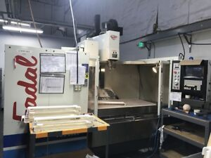 Used Fadal Vmc 6030 Ht Cnc Vertical Machining Center Mill 10 000 Rpm 32mp Ct 99