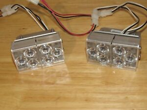 Whelen Freedom Dual Lr 11 Super Led Alley Lights With Mounts