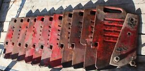 12 Vintage Massey Ferguson Suit Case Weights 1080 Tractor And Others