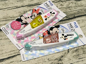 2018 Disney Mickey Mouse Correction Tapes Cute Minnie Mini Roller Plus Whiteout