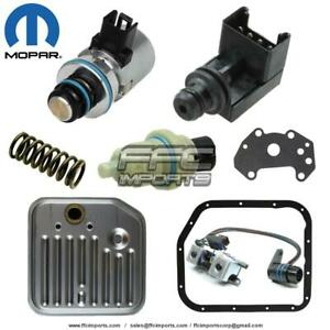 A500 42rh 44re Mopar Governor Overdrive Solenoid Speed Sensor Filter Kit 00 04