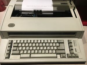 Ibm Personal Wheelwriter 2 Electronic Typewriter
