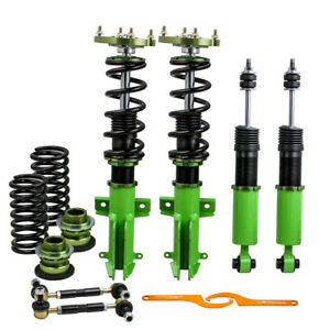 Coilovers Kits For Ford Mustang 05 14 Adj Height Mounts Struts W Z Sway Bar