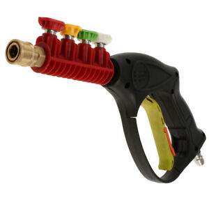Adjustable Front Trigger Car Nozzle Various Watering Needs Connect 0 37 Plug