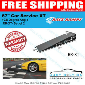 Race Ramps 67 Car Service Ramps Xt 10 8 Degree Angle set Of 2 Rr xt