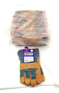 12 Pairs Kinco Leather Insulated Work Gloves 1725ml