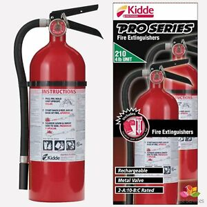 7 5 Lb Kiddie Fire Extinguisher Abc Dry Chemical Marine Kitchen Home Boat Mount