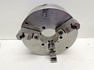 Bison 12 3 jaw Lathe Chuck Plain Back Stk 15043q
