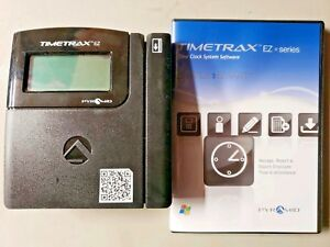 Pyramid Timetrax Ttez Automated Swipe Card Time Clock System With Software