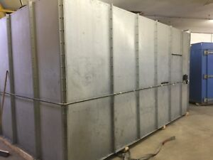 Paint Or Powder Coating Spray Booth
