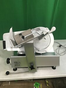 Bizerba Model Se12 Us Manual Gravity Feed Meat Or Cheese Slicer Works Great