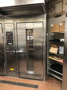 2 2008 Hobart Hba1g Single Rack Ovens Both Ovens Included Package