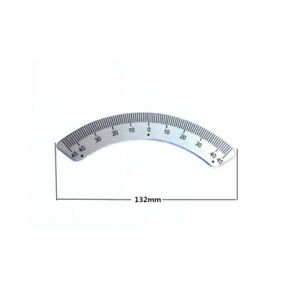1pc Milling Machine Parts 45 Degree Scale Angle Plate Micrometer For Bridgeport