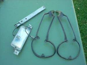 1964 1965 Plymouth Barracuda Tail Light Gaskets Deck Lid Prop License Light