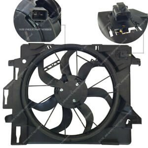 Radiator Ac Condenser Cooling Fan For Chrysler Town Country 08 16 Pacifica 2017