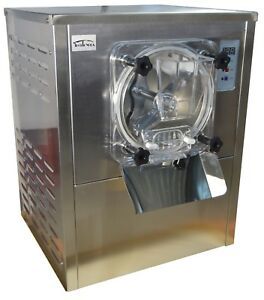 110v Commercial Hard Ice Cream Machine Frozen Ice Cream Maker12 20l h Used