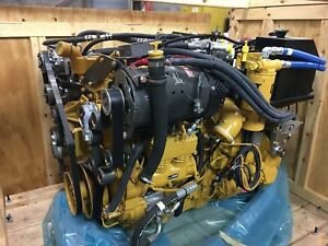 New In Crate Cat C13 Acert Engine Never Run Fully Loaded