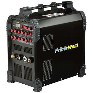 Primeweld Tig225x 225 Amp Igbt Ac Dc Tig stick Welder With Pulse Ck17 Flex Torch