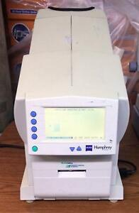 Zeiss Humphrey 710 Perimeter Visual Field Analyzer