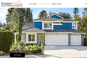 Real Estate Website And Domain Name Established Profitable Easy To Use