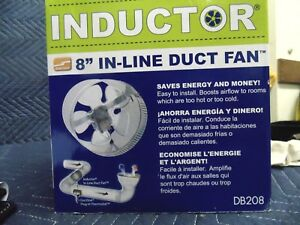 In line Duct Air Booster Fan Db208 8