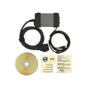 Dice 2014d Diagnostic Communication Equipment For Volvo Car Computer Detector
