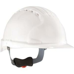Safety Works Swx00329 Pro Cap Style Vented Hard Hat White Case Of 6