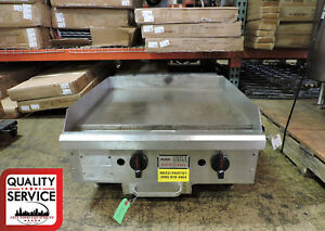 Star 624mb Commercial Manual Gas Griddle
