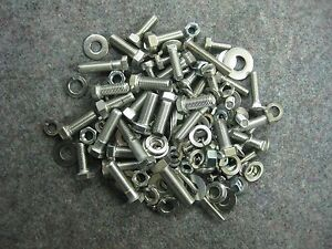 Stainless Steel Bolt Kit For Reassembling Your Vintage Unisaw