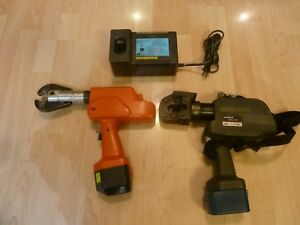 Huskie Robo crimp 6 ton Compression Crimper With Charger And Battery