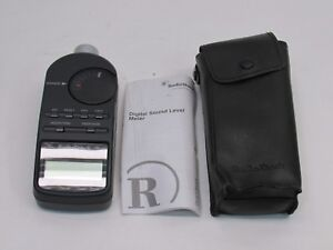 Radio Shack 33 2055 Digital Sound Level Meter decibel Measurement Tool
