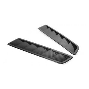 Apr Performance Carbon Fiber Universal Narrow Cooling Hood Vents pair