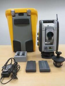 Trimble Sps730 Robotic Total Station W Machine Control 3 2 For Construction
