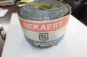 Barbed Wire Roll Galvanized Fencing Cow Horse Deer 15 5 Guage 1320 Feet Ht Fs