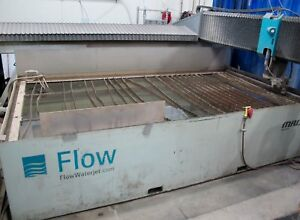 Flow Mach 3 4020b Cnc Waterjet Cutting Machine