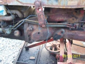 International farmall Cub Tractor Hydraulic Lines