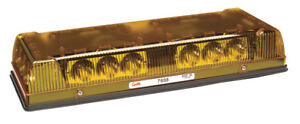 Grote 76983 Yellow 17 Low profile Led Mini Light Bar permanent Mount