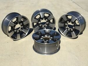 Used Take Off Set Of 4 Ford Factory 18 Inch Wheels rims With 6 Spoke Design
