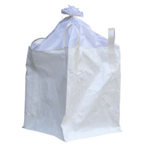 1 Ton Fibc Bulk Bag Builders Bag Waste Rubble Storage Sack With 4 Loops Pp