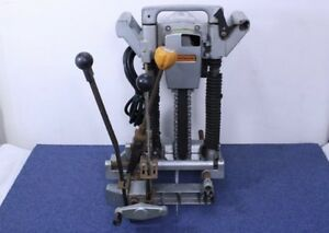 Hitachi Chain Mortiser Cb20a Good Working Condition Fully Functioning 2