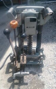 Hitachi Chain Mortiser Cb20a Good Working Condition Fully Functioning 3